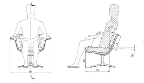 Ifma italia ergonomia e design anche nell area lounge e - Ergonomia sedia ...